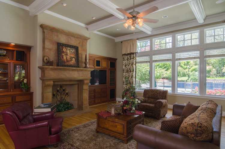 The Granite Bay home features seven bedrooms and 5 1/2 baths.