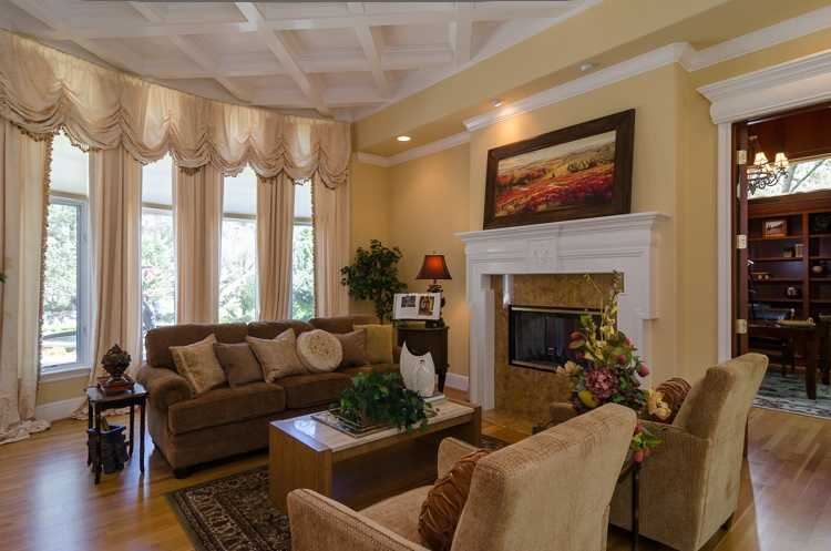 The home has about 7,300-square feet of living area.