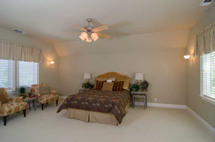 Here's another bedroom, which is one of seven inside the home.