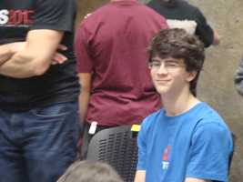 Joseph Diaz from Granite Bay High School won second place at the American Bouldering Series Divisional Championship and the chance to compete at Nationals.