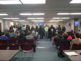 The Modesto school board held its regularly scheduled meeting Monday night, which discussed the layoffs (Jan. 14, 2013).