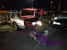 The chase began on Folsom Boulevard in Rancho Cordova just before 5 a.m.