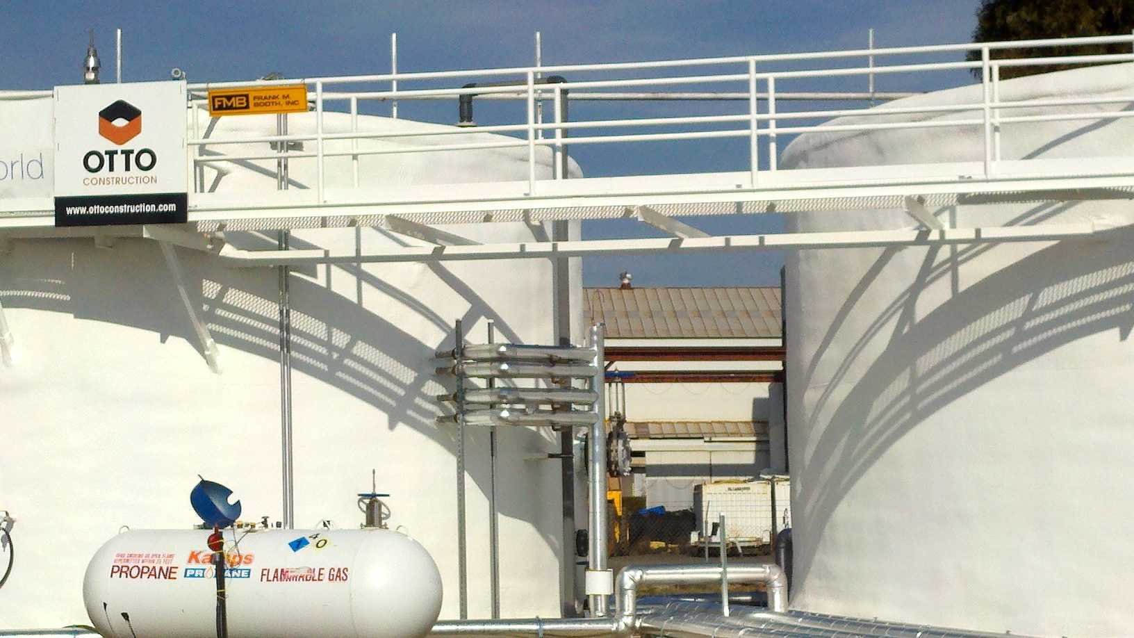 CleanWorld's bio-digester is currently converting 25 tons of food waste a day into compressed natural gas at its facility on Fruitridge Road.