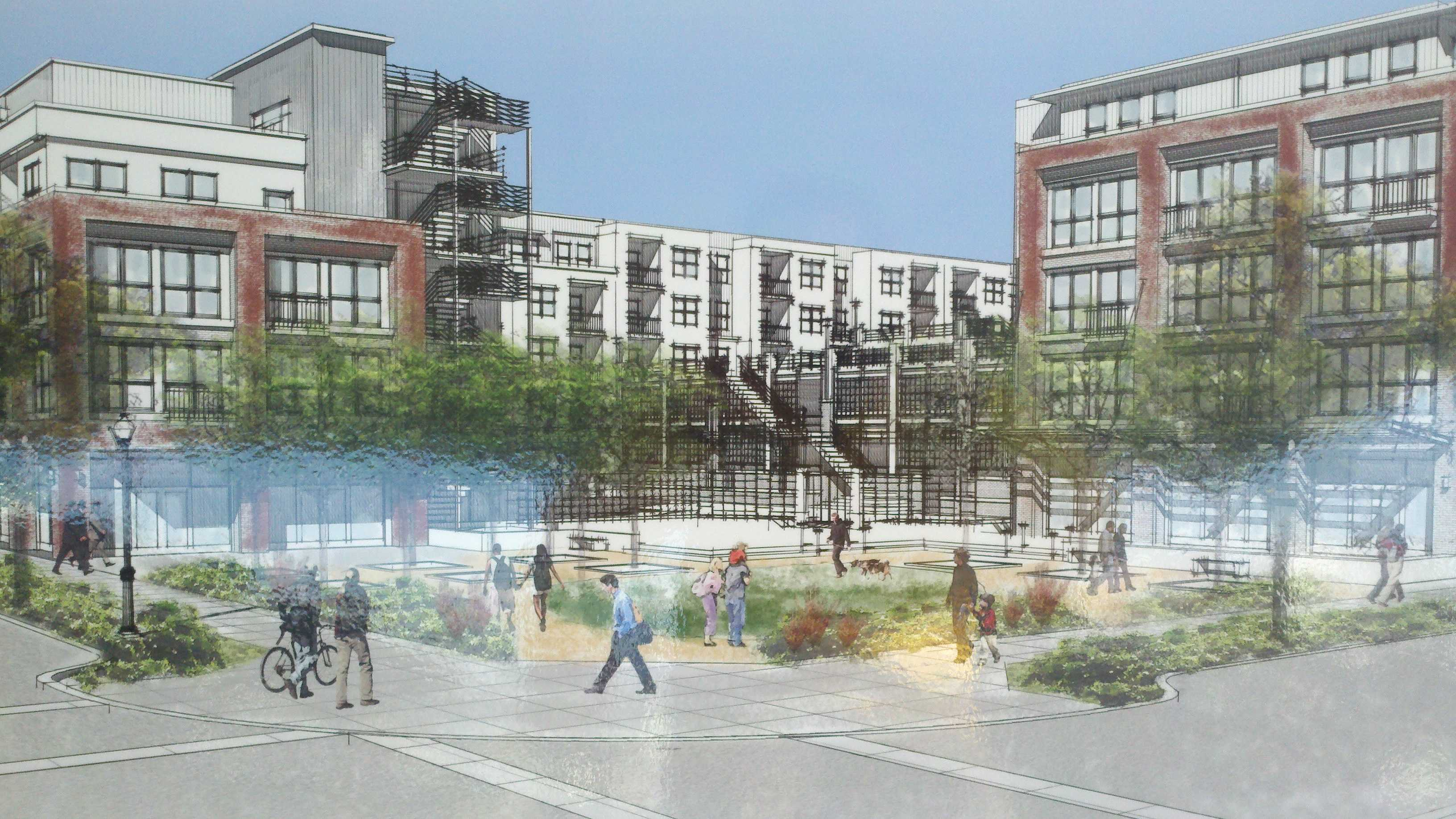 Cannery Place will be the first housing complex built as part of Sacramento's Township 9 development.