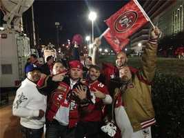 Vacaville and Modesto 49ers fans