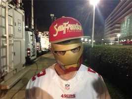 Even Iron Man is a 49ers fan