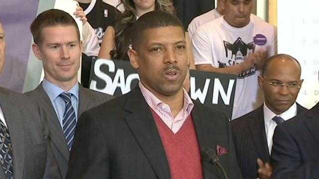 Mayor Kevin Johnson (Jan. 22, 2013)