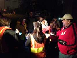 Hundreds of volunteers walked through the dark and muddy conditions Thursday night, counting the homeless. It could bring in millions of dollars to help the Sacramento homeless problem (Jan. 24, 2012).