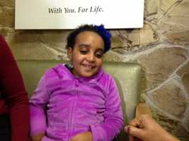 A 7-year-old Ethiopian girl got the chance to say thank you to a Sacramento doctor and other medical professionals who said they saved her life after hearing of her struggles in a remote Ethiopian village.