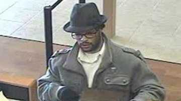 "The ""Bad Hatter Bandit"" is suspected of robbing Chase banks on Del Paso Boulevard three times."