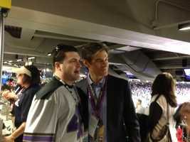 Dr. Oz is in the house at Super Bowl XLVII.