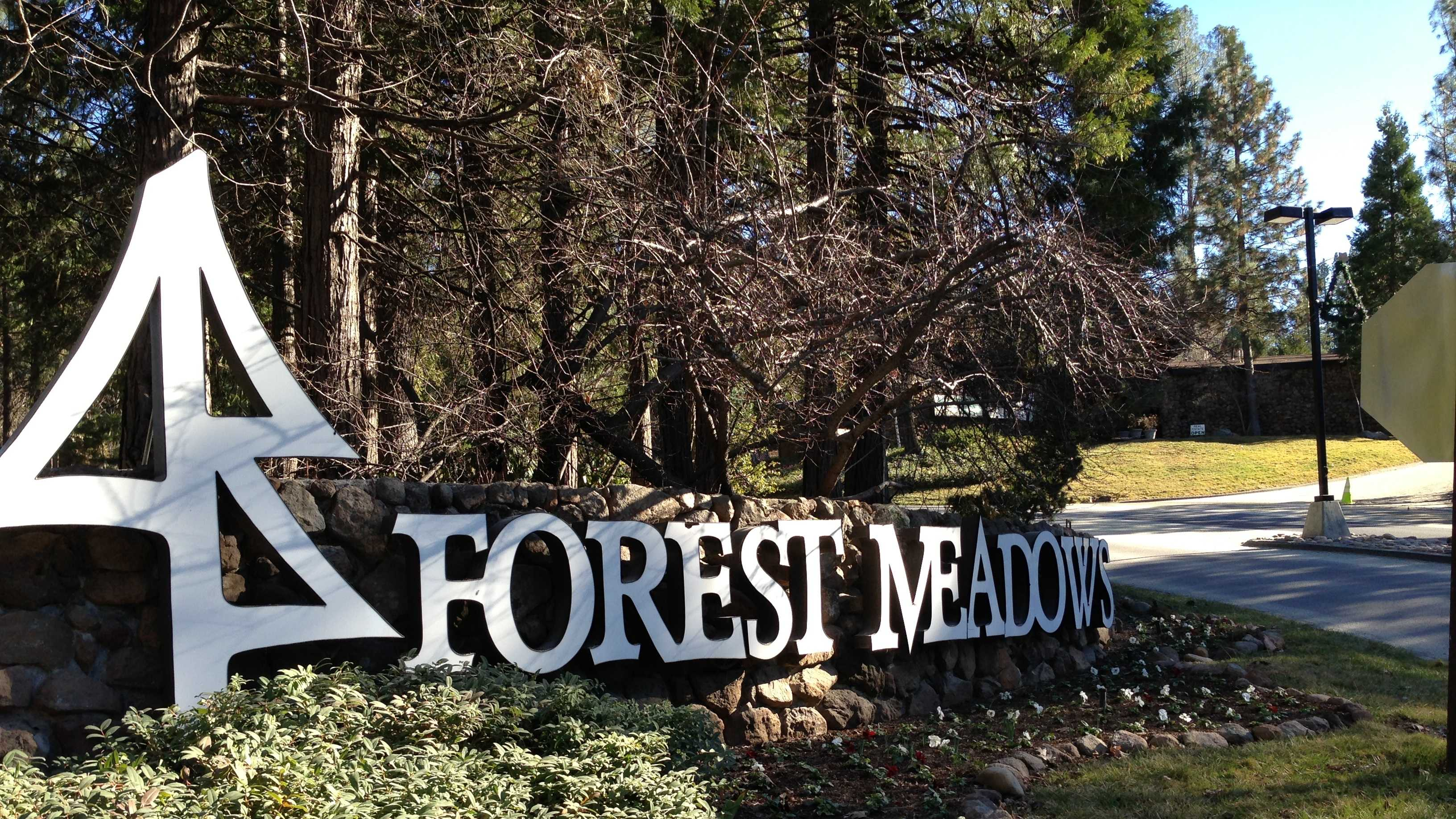 Forest Meadows is a gated, private community in Murphys.