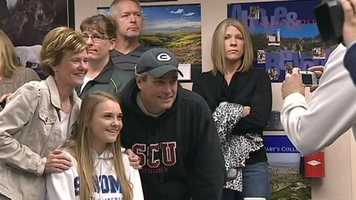 Granite Bay parents were overjoyed that their kids received scholarships to play college sports.