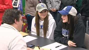 Chloe and Lily Forlini from Granite Bay are headed to the United States Air Force Academy for tennis.