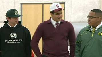 Jesuit seniors committed to play college sports at CSU Sacramento, Stanford and University of Oregon.