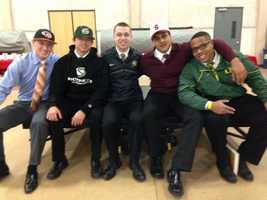Jesuit seniors signed letters of intent to play college athletics.