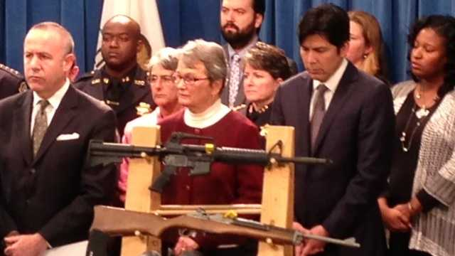 Lawmakers discussed gun legislation at the state Capitol on Thursday.