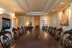 Entertaining a lot of guests? This home has this formal dining area.