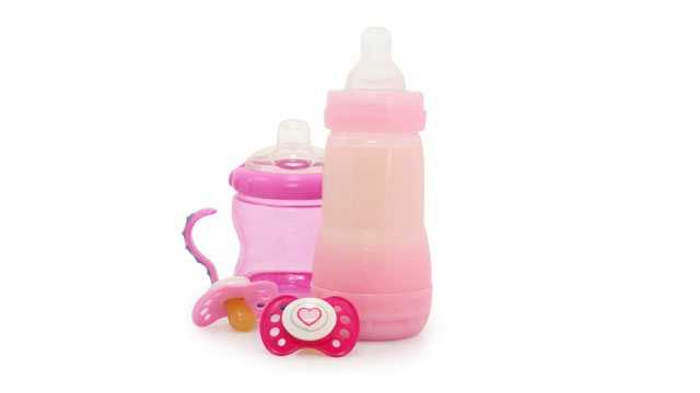 Baby bottles. While sanitation and cracks can be an issue, the real culprit is the chemical BPA that's present in most older bottles—and as of June 2012, the FDA no longer accepts that as safe. Go with new bottles to make sure you're getting the safest, most up-to-date bottles.