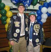John Mundt and Joey Abbate signed letter of intent to play college athletics. Mundt will play football at the University of Oregon and Abbate is going to wrestle at Duke University.