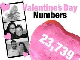 23,739: Number of jewelry stores in the United States in 2010. Jewelry stores offer engagement, wedding and other rings to couples of all ages. In February 2012, these stores sold $2.66 billion in merchandise. Source: U.S. Census Bureau, County Business Patterns, NAICS