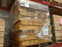 This one pallet of Opus One is worth approx. $1,000,000.