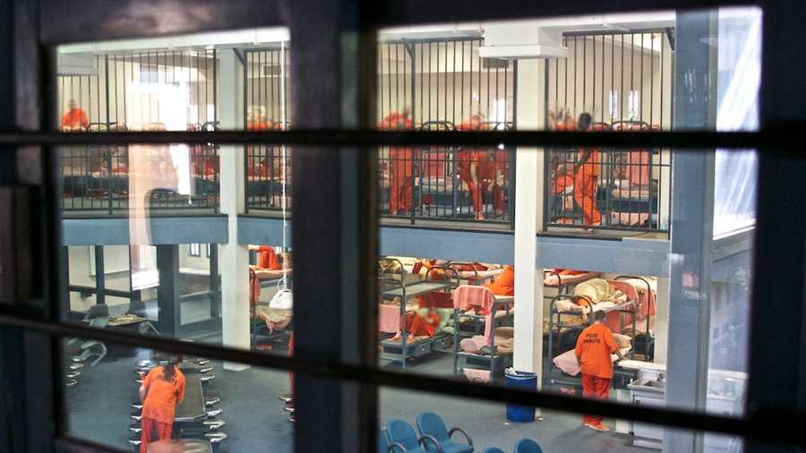 A look inside the Placer County Jail in Auburn.