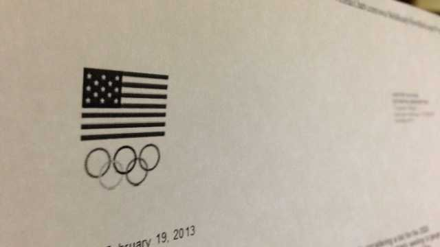 Olympic Committee send letter to Sacramento
