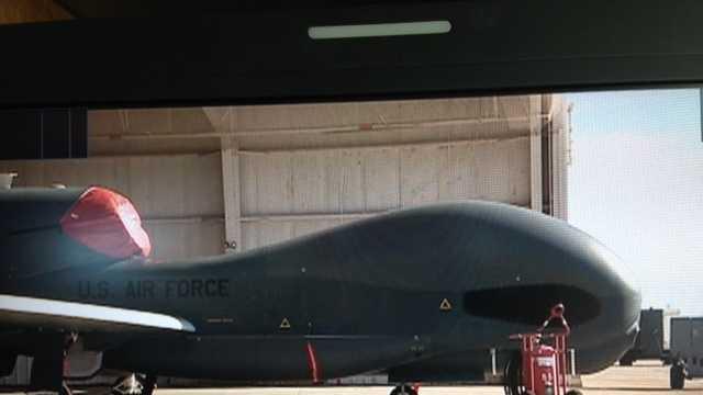 Global Hawk at Beale Air Force Base (Feb. 20, 2013)