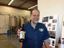 David Mathis, owner of American River Brewing Company, says his AU is his lightest beer and one of the most popular. Perhaps a gold standard?
