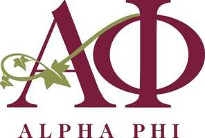 """4.) I did """"go greek"""" in college. I'm a member of the Alpha Phi sorority."""
