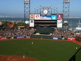 25.) I'm a die-hard baseball fan. I love the Giants!
