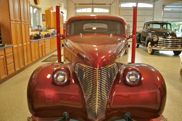 Love cars? Then you'll love the home's 2,600-square-foot car garage.