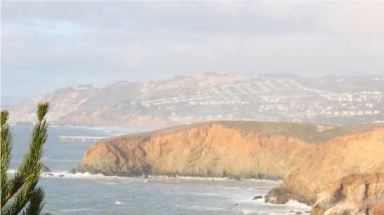 A view overlooking Pacifica.