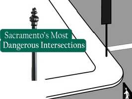 Cycle through this slideshow to see Sacramento's 10 most dangerous intersections in 2012, based on crashes reported to the Sacramento Police Department.