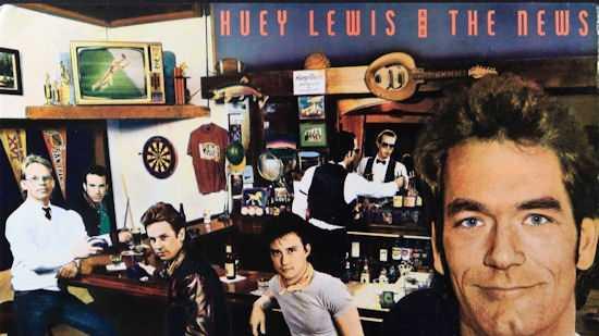 80s music stars - Huey Lewis 1980s