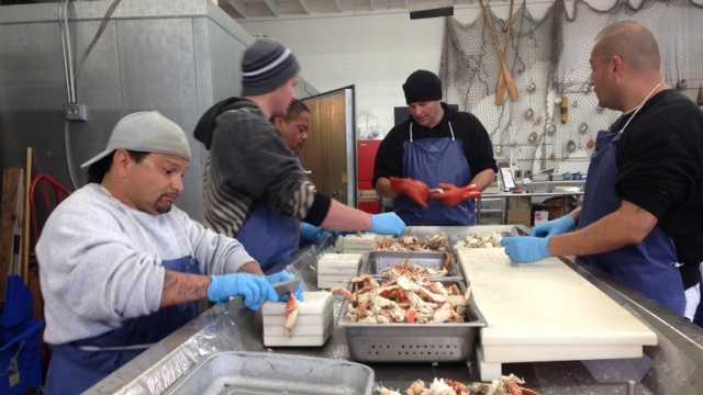 Crab feed season underway