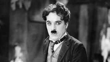 Charlie Chaplin: Chaplin was considered to be an icon during the silent film era.