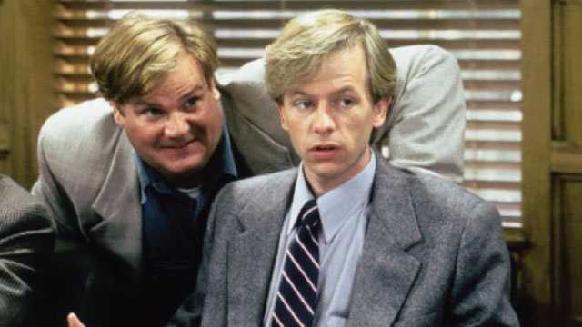 "David Spade: Spade starred on ""Saturday Night Live"" before focusing on his film career. He starred alongside Chris Farley in ""Tommy Boy"" and ""Black Sheep."" He also starred in the television series ""Just Shoot Me"" and ""Rules of Engagement."""