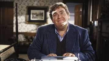 """John Candy: Late comedic actor John Candy starred in hit movies that include """"Uncle Buck,"""" """"Splash,"""" """"The Great Outdoors"""" and """"Planes, Trains And Automobiles."""""""