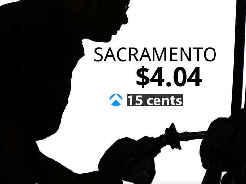 In Sacramento, the average price of gas is $4.04, a 15-cent increase from last month.