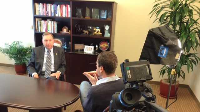 Sacramento City Manager John Shirey speaks with KCRA 3's David Bienick.