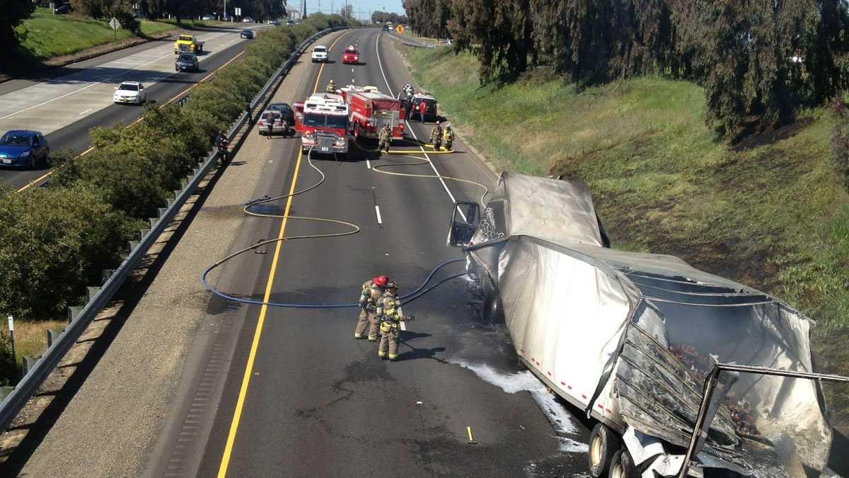 Highway 99 blockage