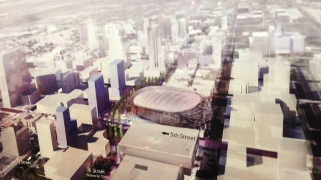 Sacramento downtown arena renditions