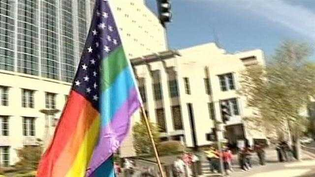 Sacramentans reacted to Tuesday's hearing before the Supreme Court on California's same-sex marriage ban.