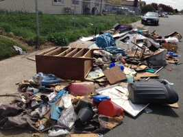 Stockton police say anyone caught illegally dumping trash will face a fine.