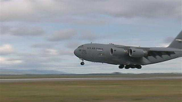 New runway at Travis AFB