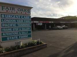 The burglary happened at Fair Oaks Plaza on Fair Oaks Boulevard.