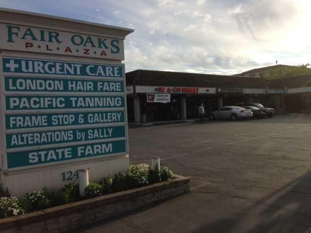 The burglary happened at Fair Oaks Plaza on Fair Oaks Boulevard.