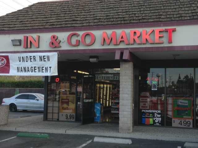 Money was taken from the In & Go Market on Fair Oaks Boulevard.